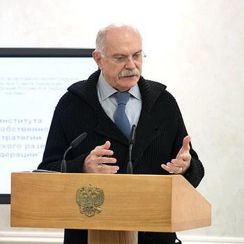 Никита Михалков и Андрей Кричевский обсудили в Совете Федерации будущее интеллектуальной собственности