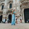 Настя Ивлеева отдыхает в Италии