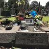 С могилы Йена Кёртиса украли камень