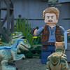 Лего-динозавры жуют лего-листья в трейлере сериала «LEGO Мир Юрского периода» (Видео)