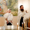 Елена Князева крестила сына в Москве