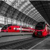 Модный показ пройдет в движущемся поезде