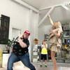 Яна Рудковская станцевала с Пухляшом из клипа Little Big (Видео)