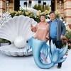 Анита Цой отпраздновала жемчужную свадьбу на дне океана