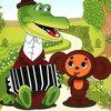 Крокодил Гена и Чебурашка попали на деньги