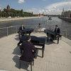 Трио Bel Suono и Ансамбль им. А. В. Александрова сыграли «Калинку» на Москве-реке