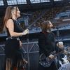Шура Би-2 спел с солисткой Little Big на пустом стадионе