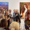 Стас Намин представил «Корни рок-н-ролла» на юбилейной мультижанровой выставке «Противостояние»