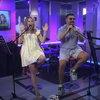 Юлия Ковальчук и Алексей Чумаков дали совместный концерт в эфире (Видео)