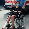 Анита Цой вернулась из Турции в инвалидном кресле (Видео)