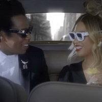 Бейонсе и Джей Зи устроили свидание в машине (Видео)